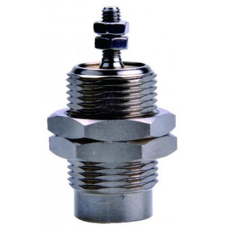 Minicilindru pneumatic filetat simpla actionare