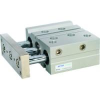 Cilindru pneumatic antirotatie Tri-rod ghidaj seria TC