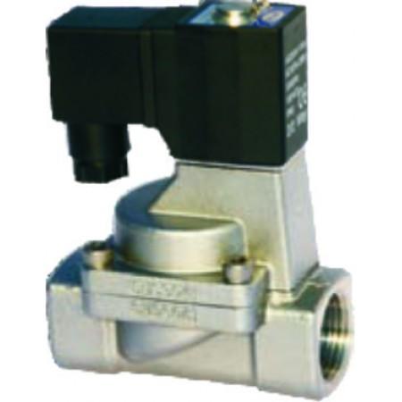 Vana control fluide din inox apa/aer/ulei/abur etansari teflon