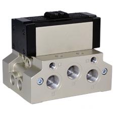 Distribuitoare cu actionare pneumatica ISO5599 Taglia 1/2/3/4